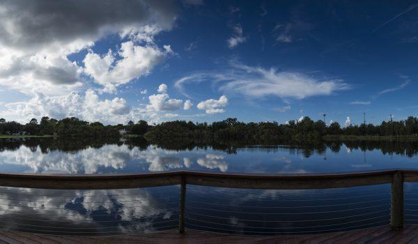 Lago a lo Panorámico